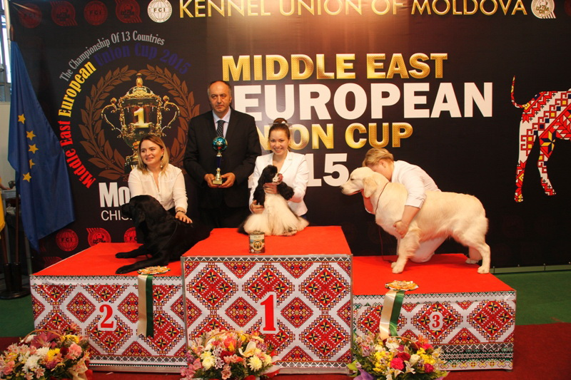 FCI group VIII - Winners of the International Dog Show  «Middle East European Union Cup 2015», 3 May (Sunday)